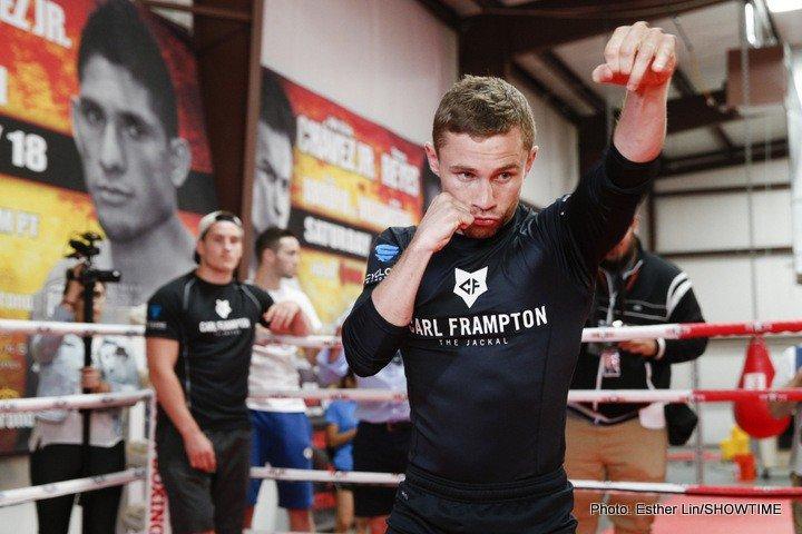 Carl Frampton Boxing News
