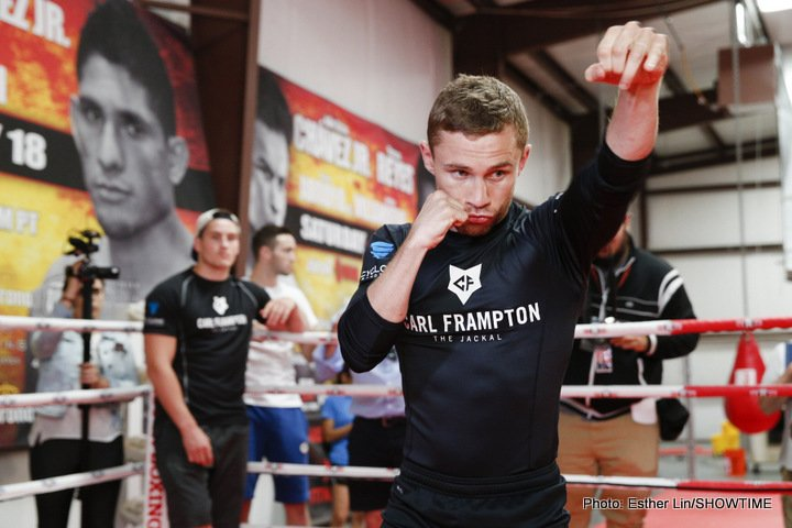 Carl Frampton Promising Exciting American Debut
