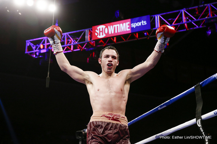 Julio Cesar Chavez Jnr wins wide decision over Dominik Britsch, calls for GGG, Canelo