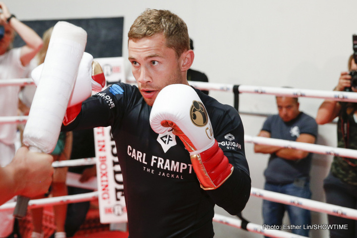 Carl Frampton sure his clash with Leo Santa Cruz will be an all-action battle