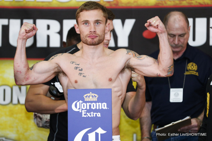 Frampton: 'Quigg Gets Given Titles / Rigo is the Real WBA Champ