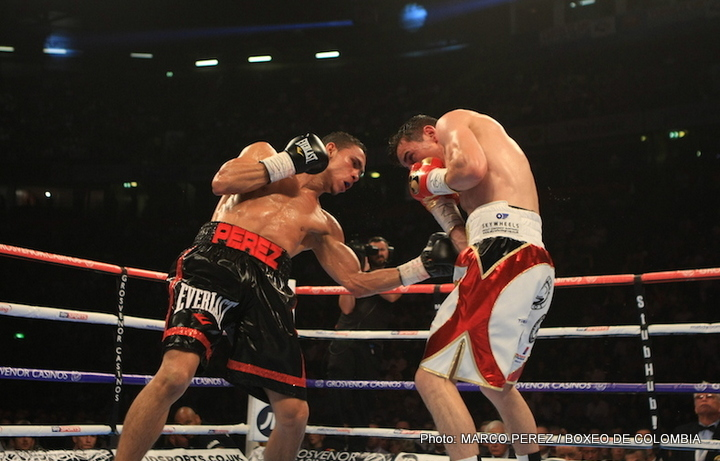 Darleys Perez retains WBA title, fight with Anthony Crolla ruled a draw