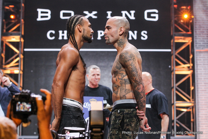 Keith Thurman, Luis Collazo - Keith Thurman steps back in the ring for a second time this year in a stay busy fight against Luis Collazo. The undercard fight matches unbeaten prospect Tony Harrison versus Willie Nelson and it may end up stealing the show. Most think Thurman will win so how will he do it may be the more fitting question. Can Keith accomplish what no one has been able to do Collazo and that is a win by knockout?