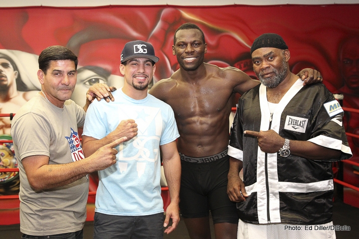 Photos: media workout –  Danny Garcia & Steve Cunningham plus quotes