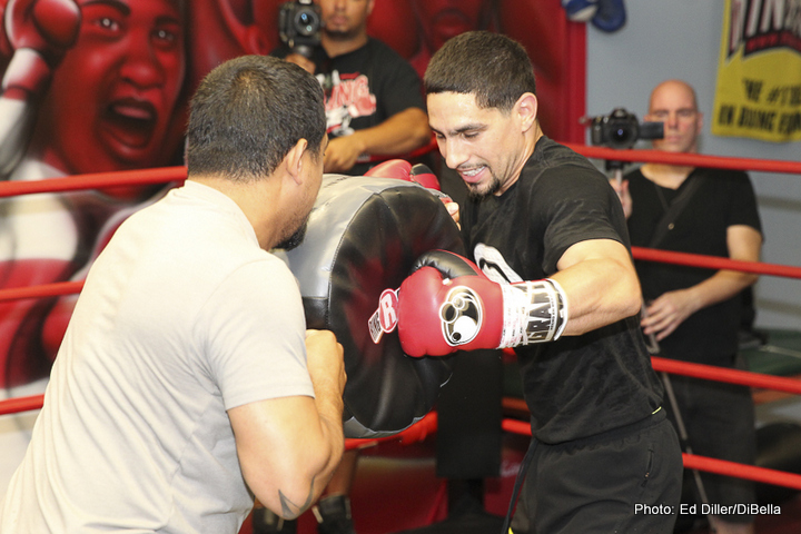 Danny Garcia vs Robert Guerrero live on BoxNation