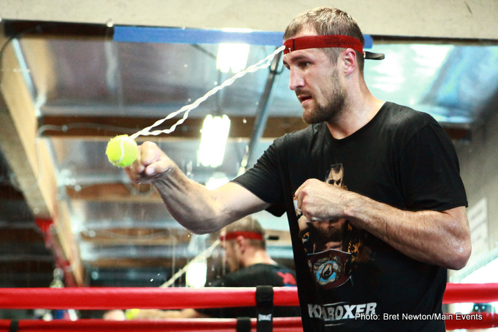 """Sergey """"Krusher"""" Kovalev Media Workout Photos and Quotes"""