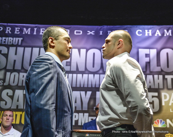 B.J. Flores – Beibut Shumenov press conference quotes & pictures