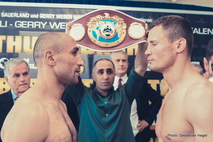Abraham and Stieglitz make weight ahead of WBO World title tilt