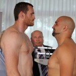 Erkan Teper - David Price (19-2, 16 KOs) and Erkan Teper (14-0, 9 KOs) took to the scales today ahead of their European Heavyweight title fight on Friday night at the MHP Arena in Ludwigsburg, Germany.