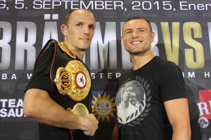 Braehmer in top shape ahead of WBA World title defence