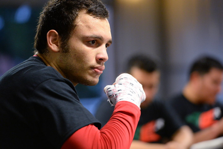 Julio Cesar Chavez Jr. vs. Marcos Reyes this Saturday on Showtime, in El Paso, Texas