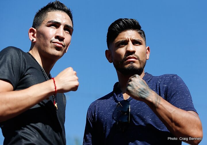 Abner Mares – Leo Santa Cruz quotes