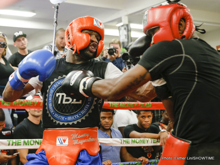 Floyd Mayweather, Badou Jack, Ishe Smith Open Media Quotes, Videos, Photos