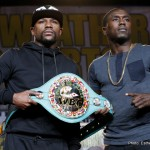 """Mayweather vs. Berto - Watching the latter day Floyd Mayweather in interviews and at media scrums is a little bit like watching a small child who has been told by it's mother - """"think carefully before you speak,"""" such are the deliberate pauses for careful consideration every time he opens his mouth these days."""