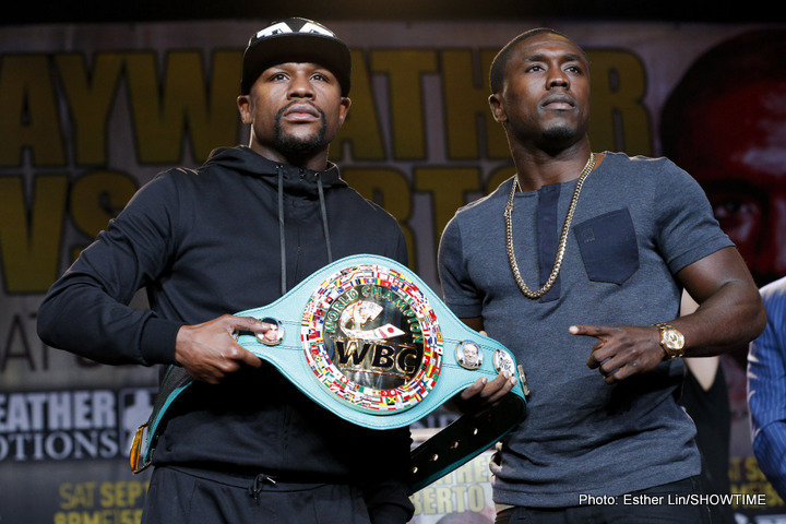 Mayweather: Everybody is Overlooking Berto / The Betting Odds Should be Closer