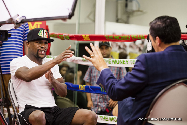 BoxNation: Was Floyd Mayweather Really Dehydrated?
