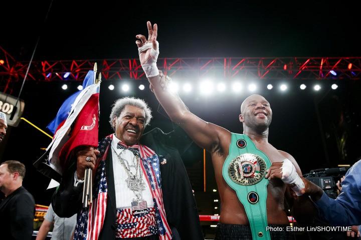 Trevor Bryan Wins Heavyweight Slugfest Against Derric Rossy