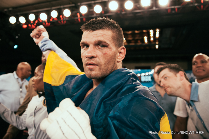 Derevyanchenko outclasses Ayala; Khytrov Delivers TKO