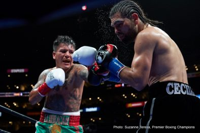 Abner Mares Leo Santa Cruz Boxing News Boxing Results