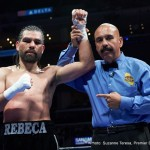 "Alfredo Angulo - If there was ever a fighter to point at when it comes to the ability to overcome a lack of sizzling boxing skill with sheer determination and toughness, that guy is Alfredo Angulo. The Mexican warrior known as ""Perro"" thrilled fans with his wins over the likes of Harry Joe Yorgey, Joel Julio and Joachin Alcine, while in other fights, Angulo's heart and refusal to quit saw him take extended punishment, losing to guys like James Kirkland (in a real dogfight), Erislandy Lara and Canelo Alvarez. Those fights, though, took place a long time ago."