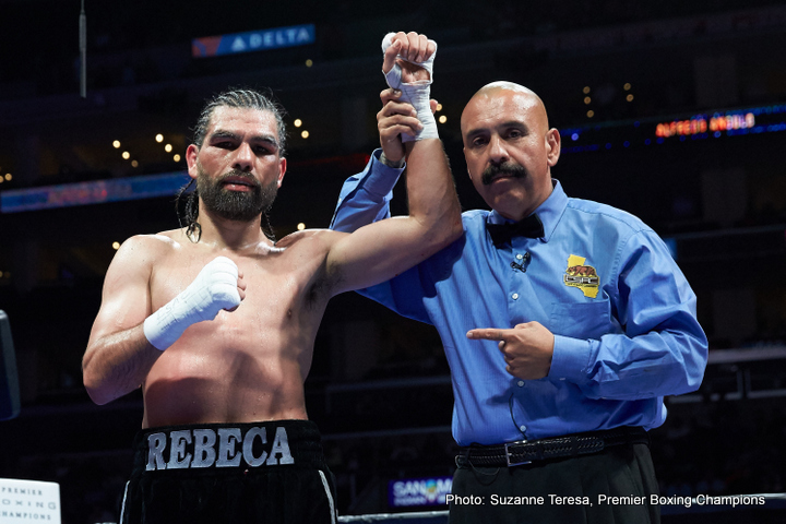 Alfredo Angulo & Terrell Gausha Media Workout Quotes