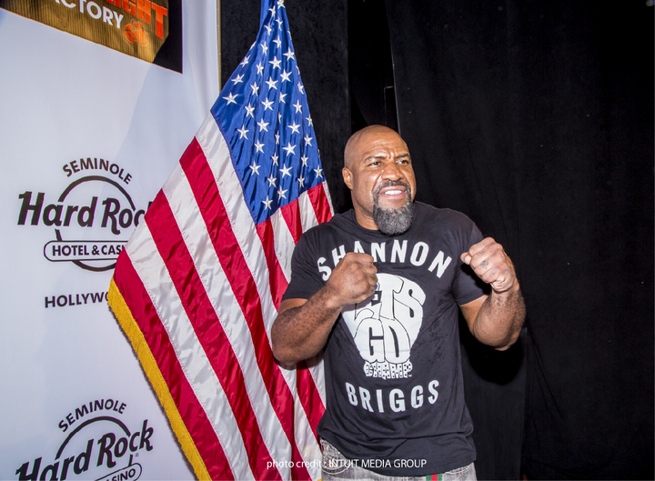 As Shannon Briggs turns 45 he's still looking for a fight