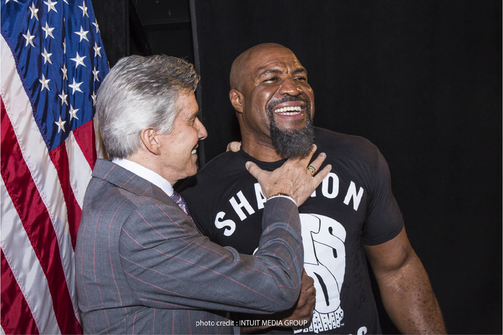 So who will Shannon Briggs fight on Saturday night?