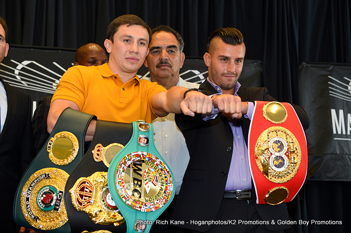 Golovkin vs. Lemieux - There is much hype and expectation surrounding October's crunch middleweight unification showdown between murderous punching WBA (sup) champion Gennady Golovkin and big-hitting IBF belt holder David Lemieux.