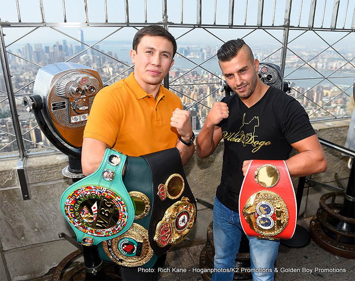 Golovkin Feels the Pressure of Unification Showdown With Lemieux