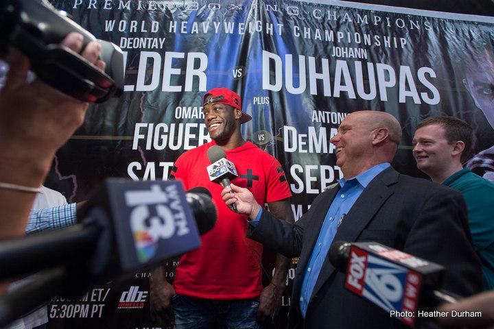 Deontay Wilder, Johan Duhaupas - Boxing News