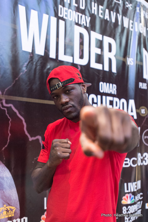 Bryant Jennings Deontay Wilder Boxing News