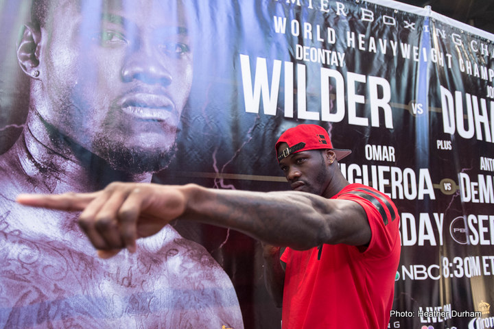 Deontay Wilder Claims WBC Title is Staying in the US For A Long Time!