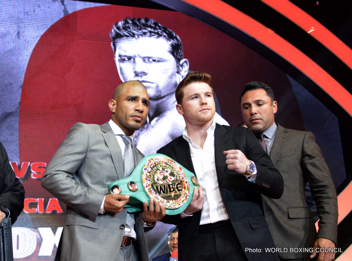 Miguel Cotto And Canelo Alvarez Close Out Epic Four-City International Press Tour