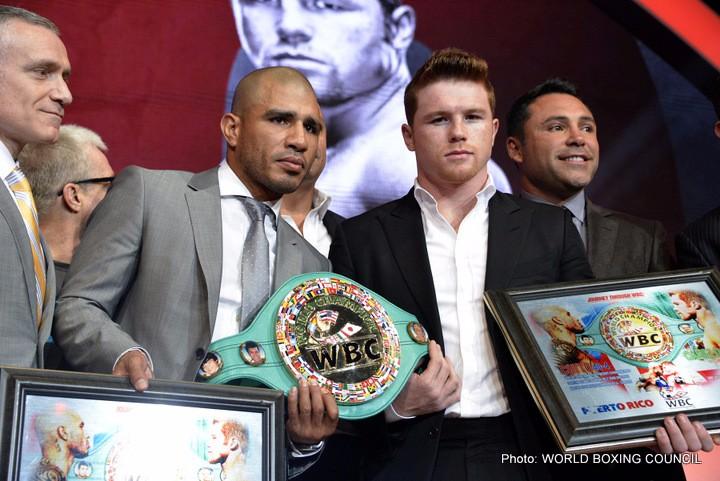 Miguel Cotto Saul Alvarez Boxing News Top Stories Boxing