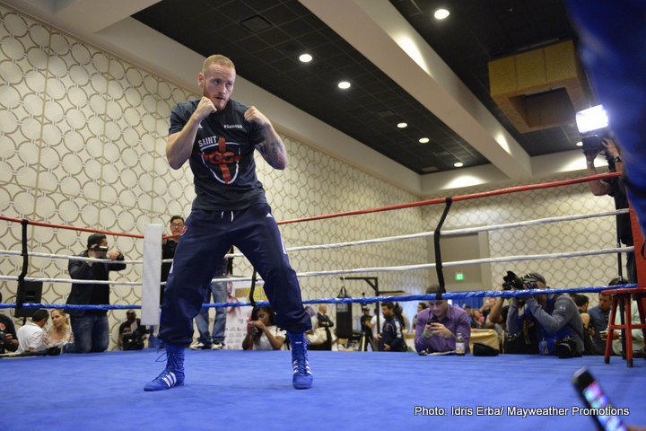 George Groves, Jhonny Gonzalez LA Media Workout Quotes