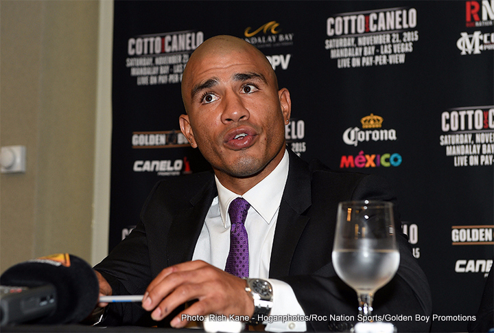 Cotto: 'This is Just Another Fight for Me'