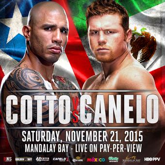Cotto/Canelo: Promising Excitement in Mexico/Puerto Rico Rivals Fight