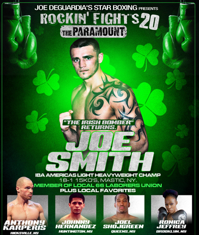 Joe Smith Jr. Boxing News