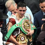 "Kiko Martinez, Leo Santa Cruz -  Undefeated three-division world champion Leo ""El Terremoto"" Santa Cruz will make the first defense of his Featherweight World Championship against former world champion Kiko Martinez on Saturday, Feb. 27, live on SHOWTIME® from Honda Center in Anaheim, Calif."