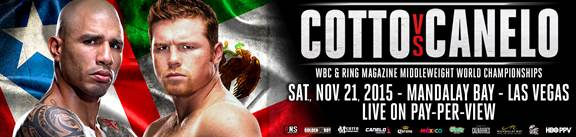 "Alvarez Cotto vs Miguel Cotto Saul ""Canelo"" Alvarez Boxing News"