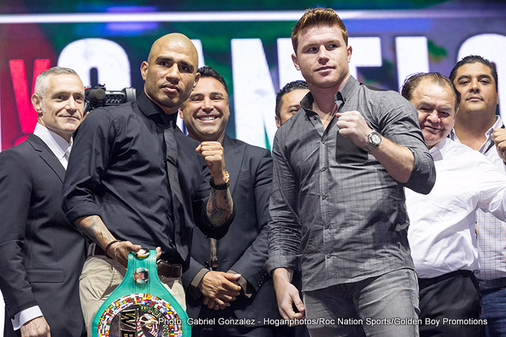 JAY Z + Oscar De La Hoya Bet on Miguel Cotto vs. Canelo Alvarez