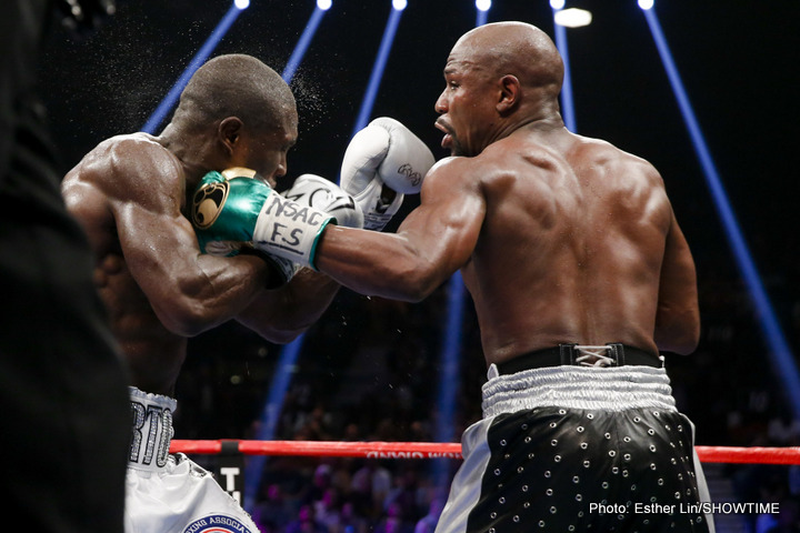 "Mayweather vs. Berto - Floyd ""Money"" Mayweather performed one last masterpiece on Saturday live on SHOWTIME PPV® in what he insists was the final fight of his distinguished 19-year career."