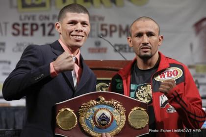 Roman Martinez and Orlandd Salido