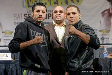 Ishe Smith Jhonny Gonzalez Johnathan Oquendo Vanes Martirosyan Boxing News
