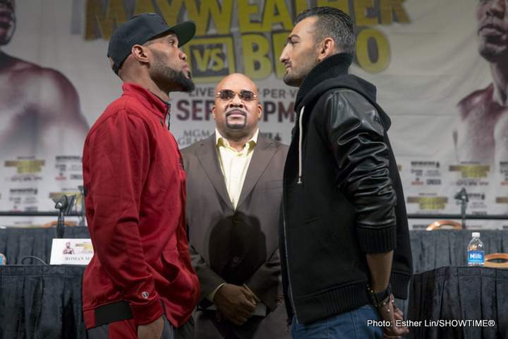 Smith vs Martirosyan; Gonzales vs Qquendo quotes