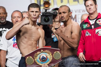 Roman Martinez and Orlando Salido