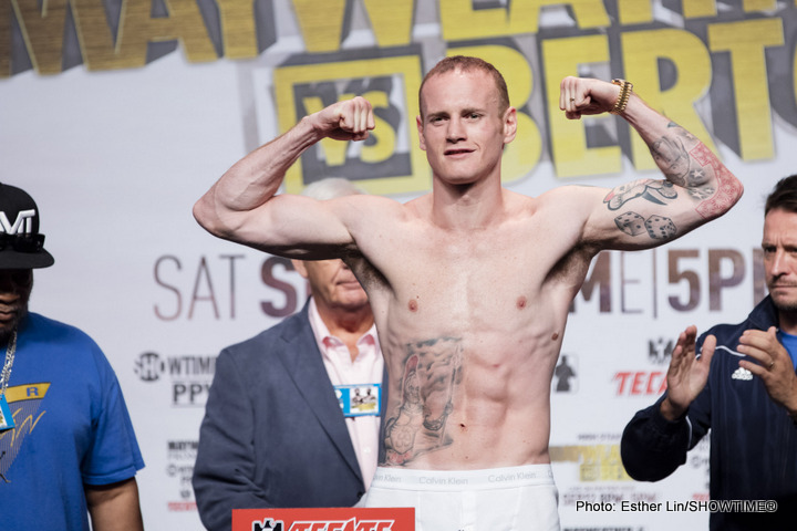 Andrea Di Luisa - Former three-time world title challenger George Groves (21-3, 16 KOs) will be looking to rejuvenate his career tonight against his B-side opponent Andrea Di Luisa (18-3, 14 KOs) in their 12 round fight in the main event at the Copper Box Arena in London, UK.