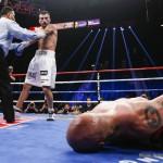 "Rocky Martinez - Roman ""Rocky"" Martinez (29-2-3, 17 KOs) retained his WBO Junior Lightweight title with a thrilling 12-round majority draw in a rematch against four-time world champion Orlando ""Siri"" Salido (42-13-3, 29 KOs)."