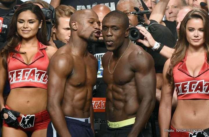 Andre Berto Floyd Mayweather Jr Mayweather vs. Berto Boxing News Top Stories Boxing