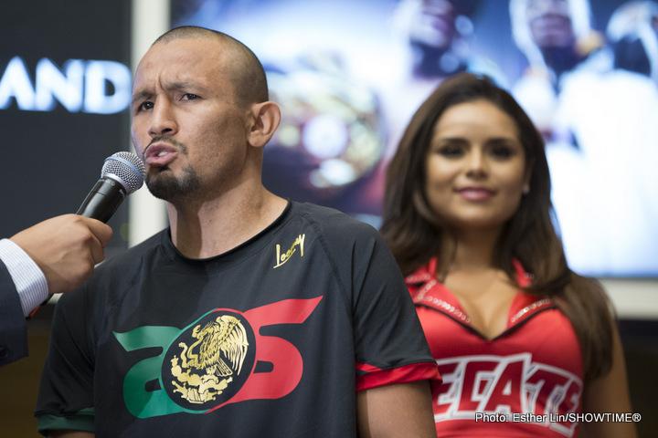 Vargas vs. Salido  on Saturday, June 4